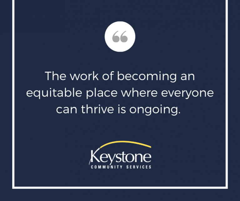 Keystone is Committed to Equity