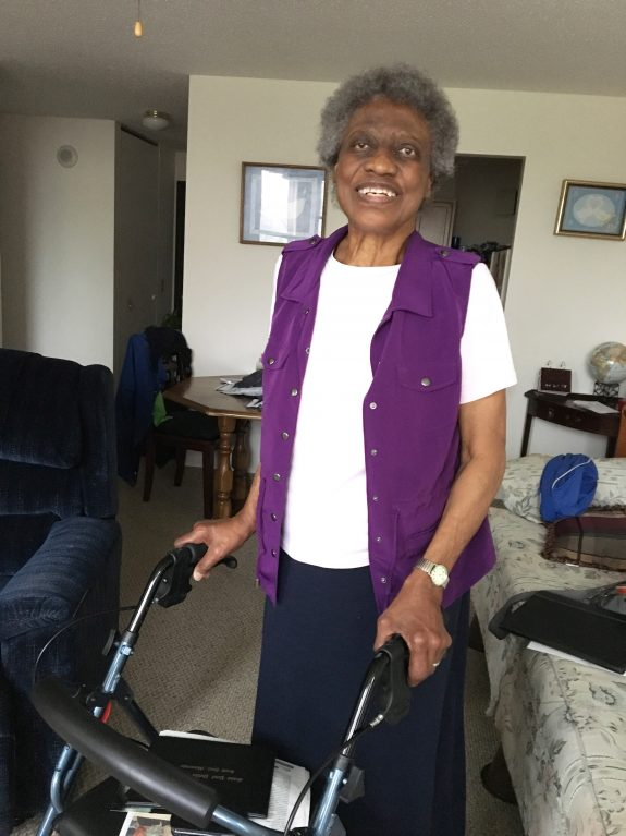 Lillian, a Keystone Meals on Wheels client