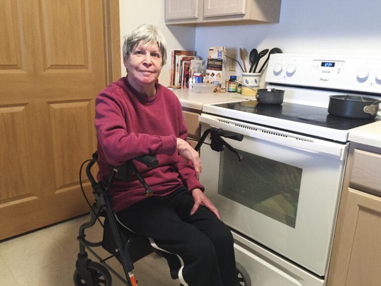 Nancy, Meals on Wheels participant