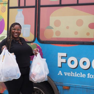 Sasha, Foodmobile program participant
