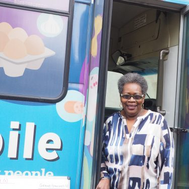 Ruby, Foodmobile participant